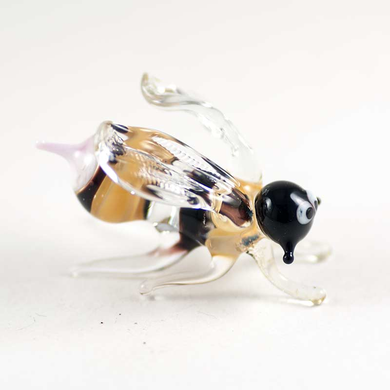 Пчела стеклянная фигурка Насекомые