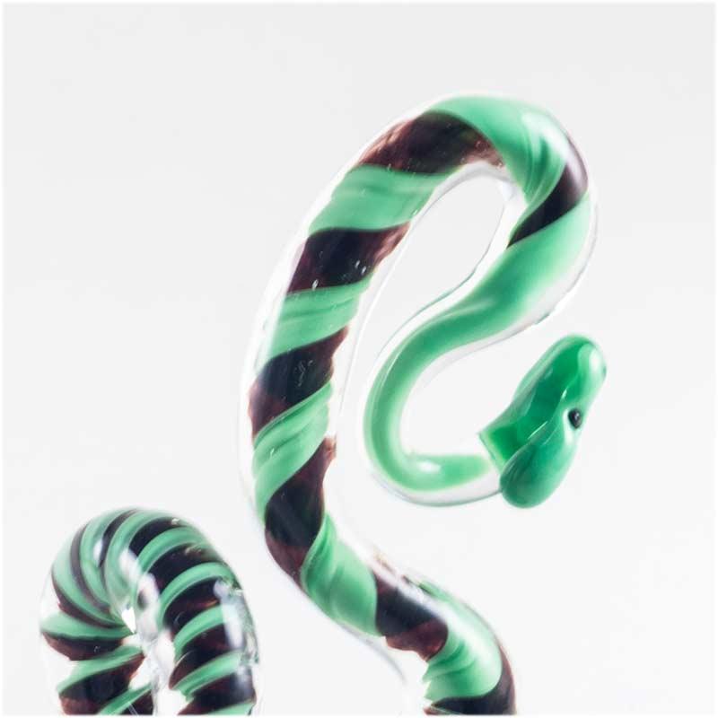 Фигурка змея зеленая Рептилии