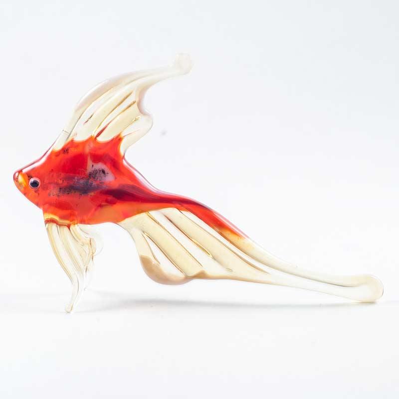 Фигурка рыбка оранжевая Рыбы