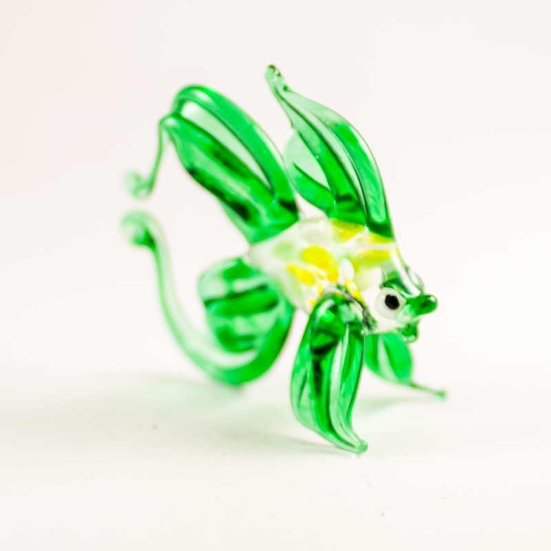 Фигурка рыбка зеленая Рыбы