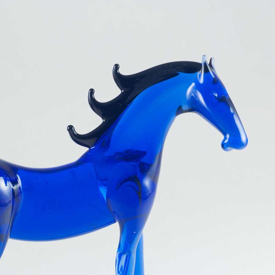 Конь фигурка стеклянная Животные