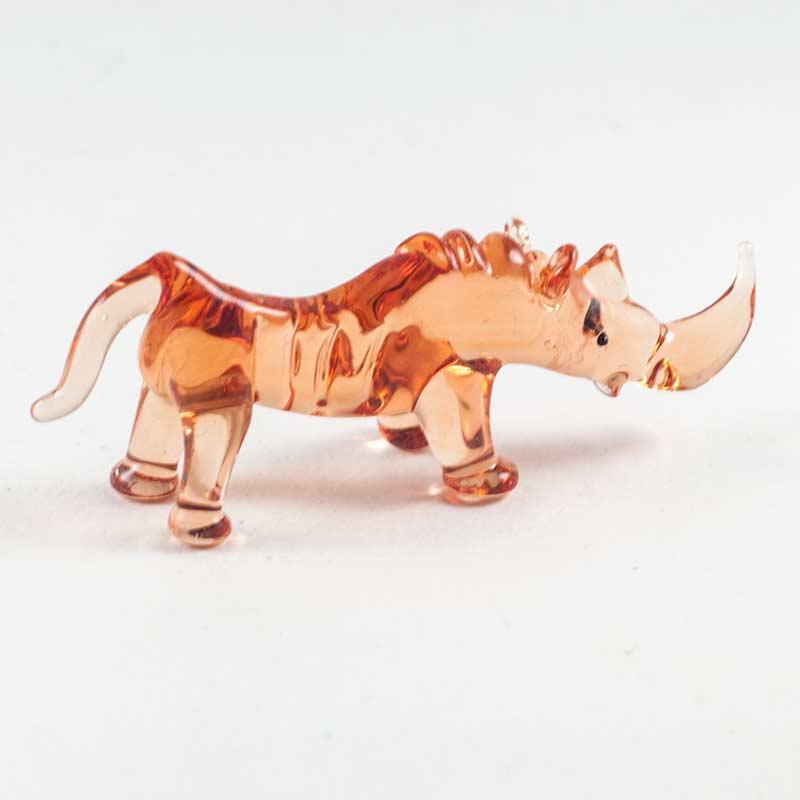 Носорожик коричневый фигурка Животные