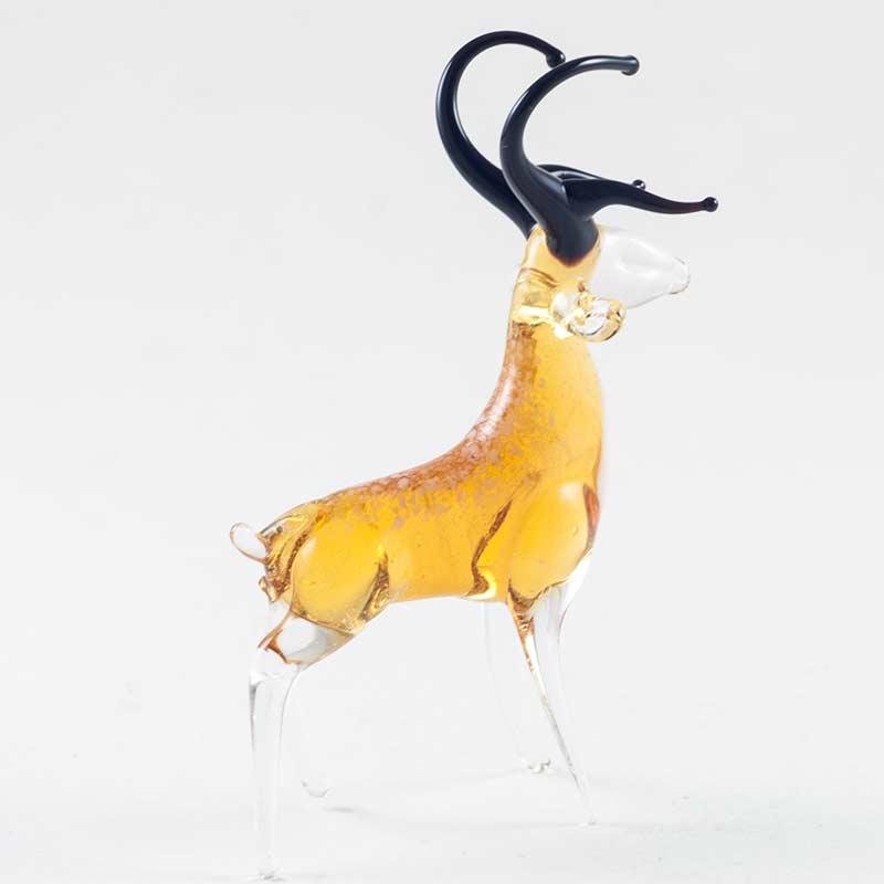 Косуля фигурка из стекла Животные