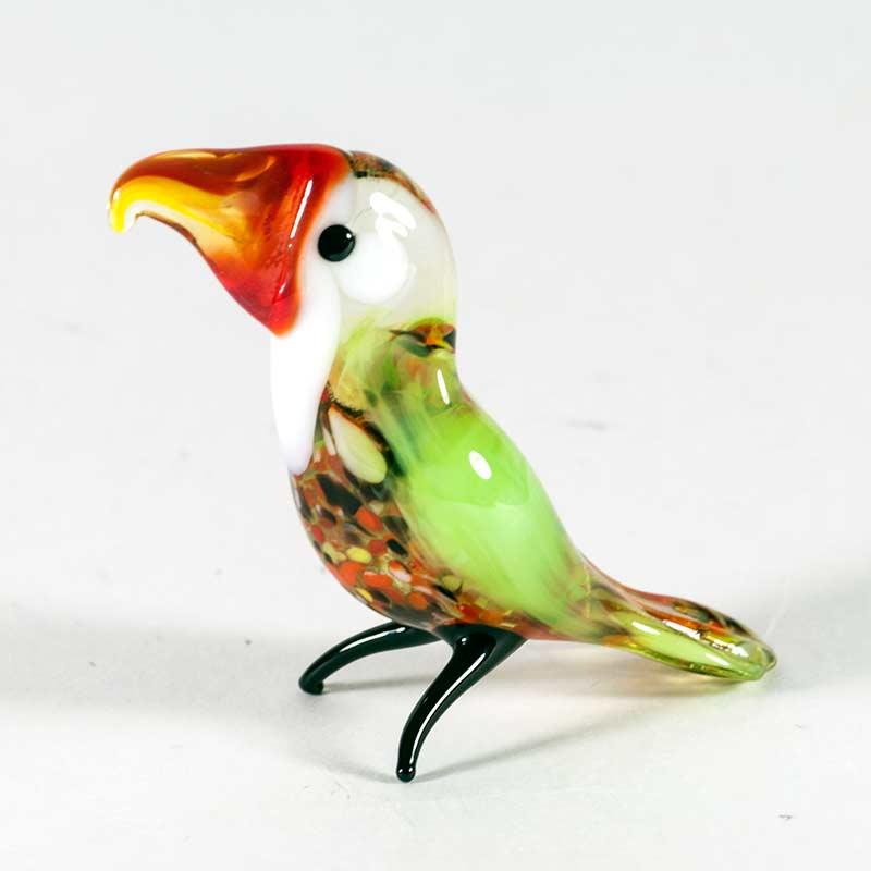 Стеклянная фигурка Тукана Птицы