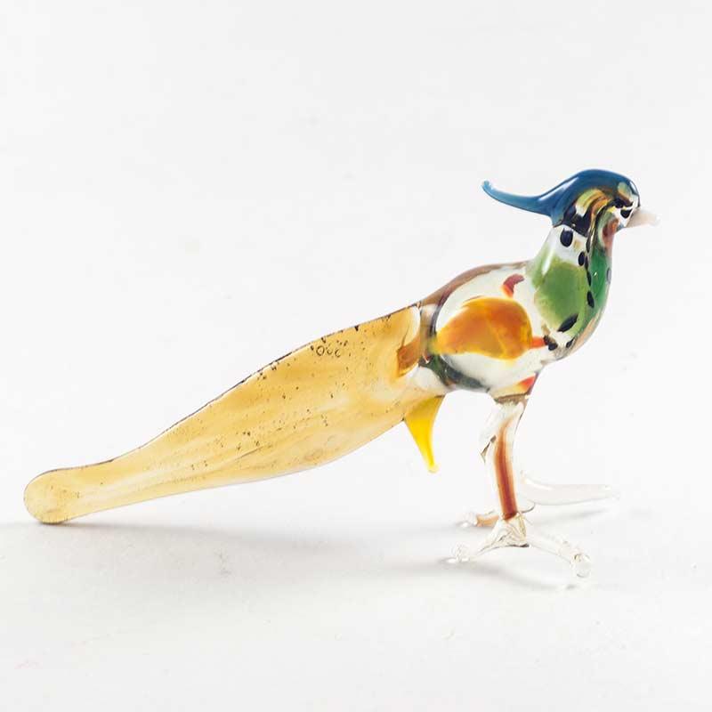 Фигурка стеклянная Фазан Птицы