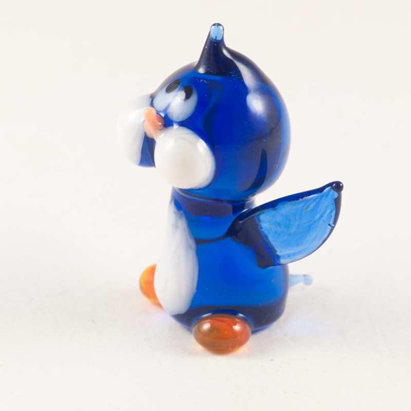 Пингвин стеклянная фигурка Птицы