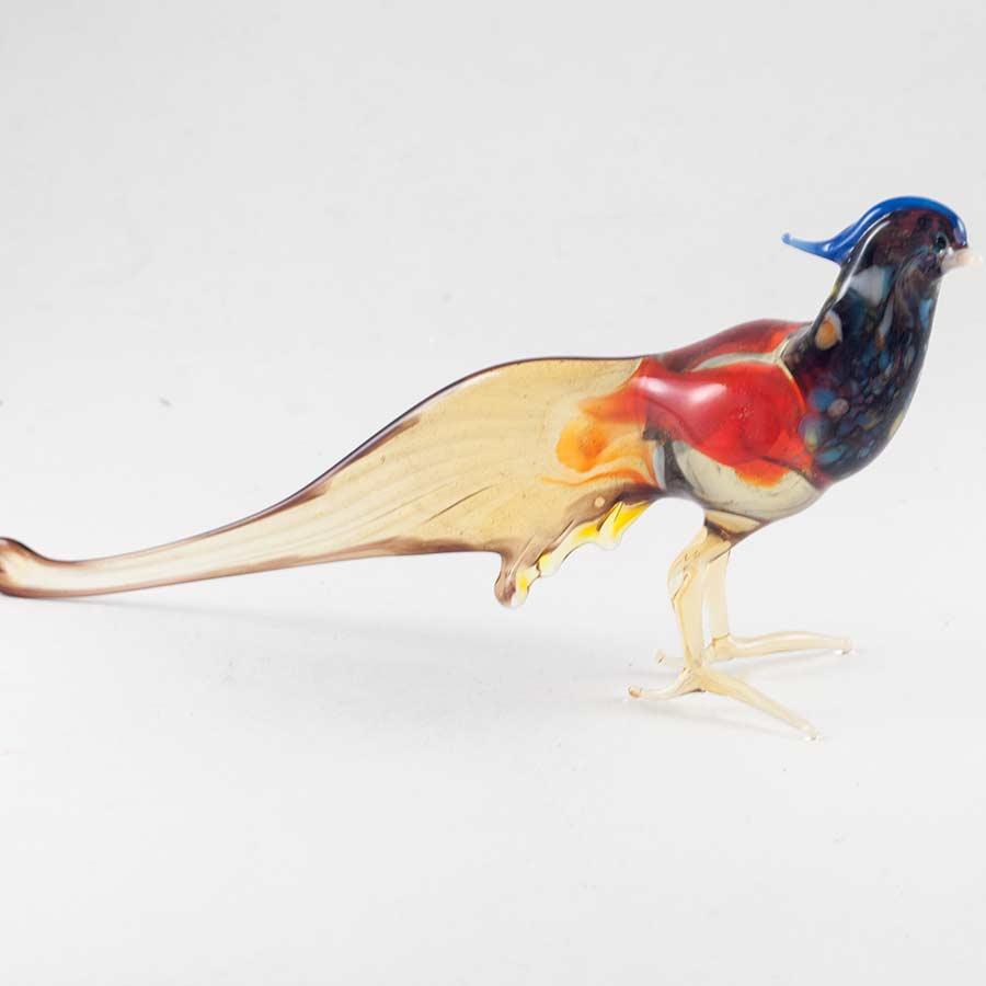 Фазан Фигурка стеклянная Птицы