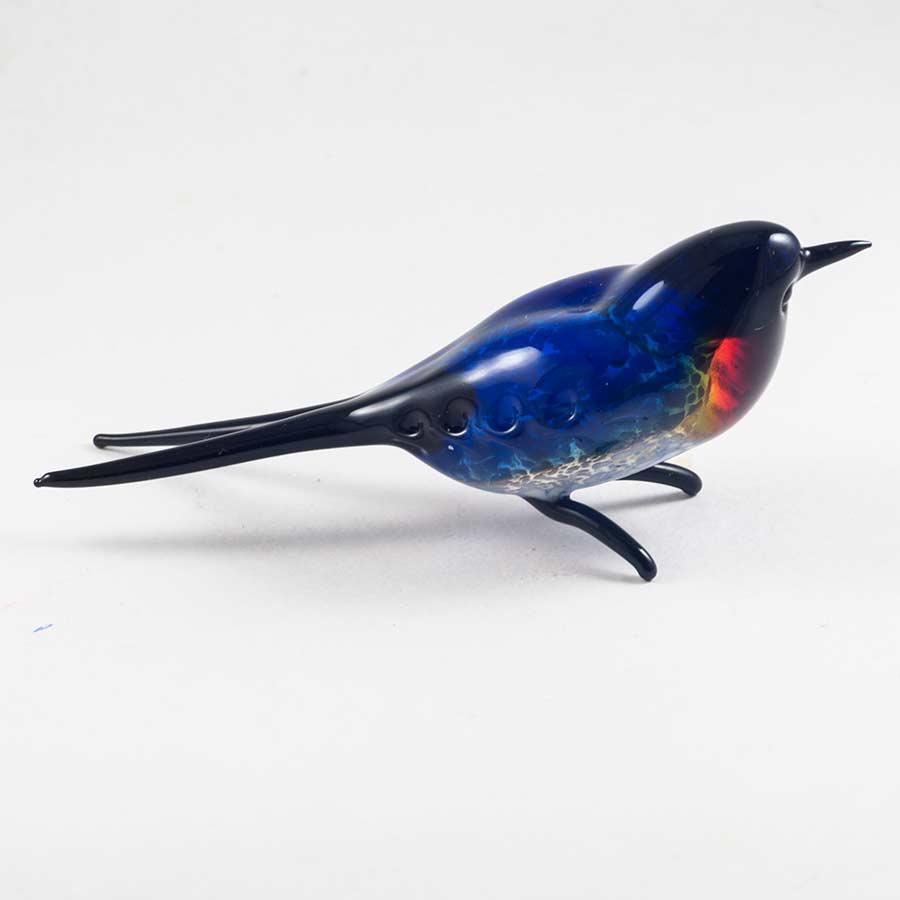 Ласточка фигурка из стекла Птицы