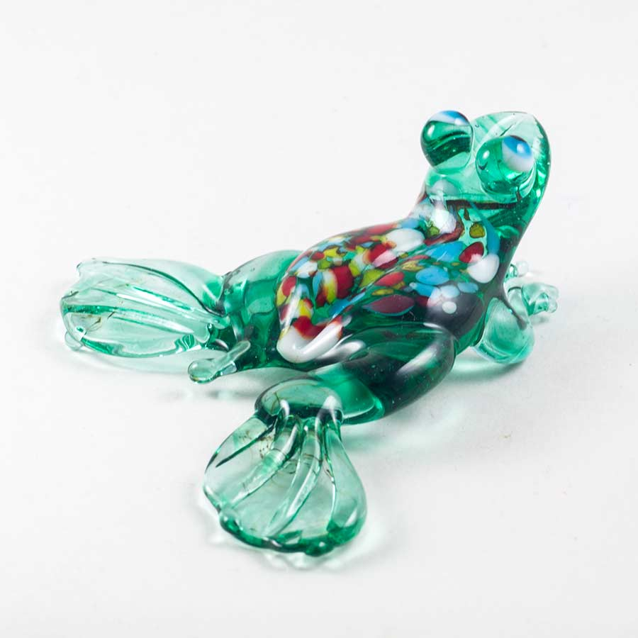 Фигурка  Лягушка зеленая Рептилии