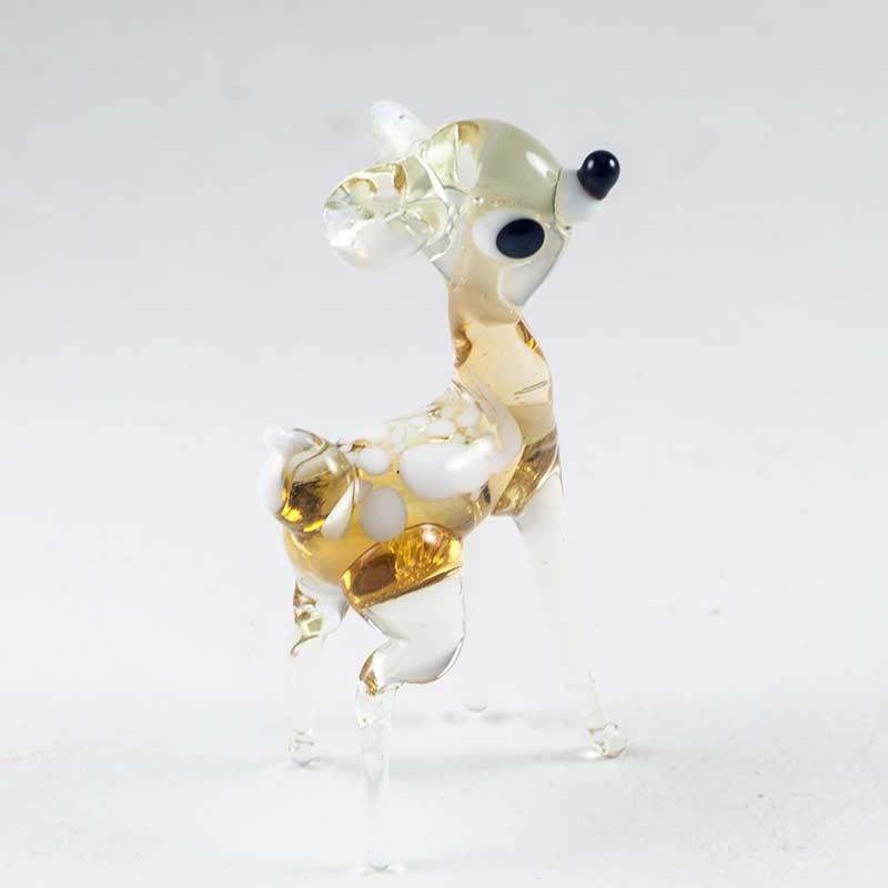 Бэмби фигурка из стекла Животные