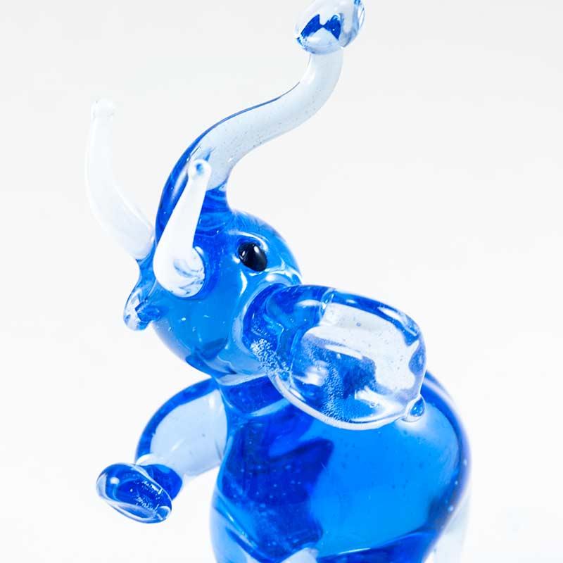 Синий слоник Животные