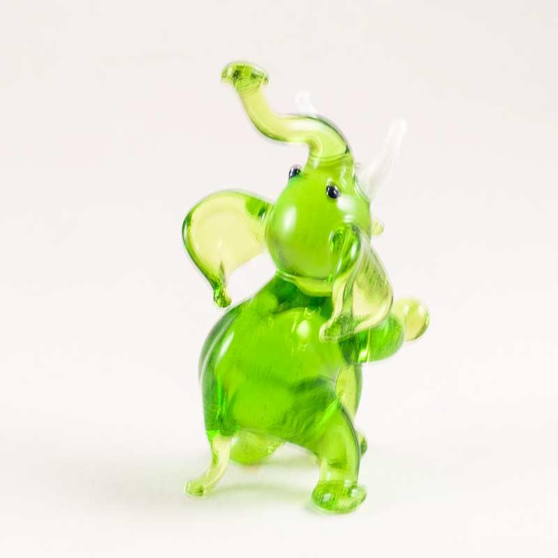 Слоник фигурка стеклянная Животные