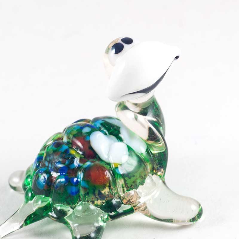 Черепаха веселая зеленая Рептилии