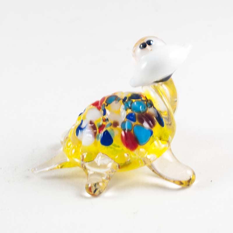 Черепаха желтая веселая Рептилии