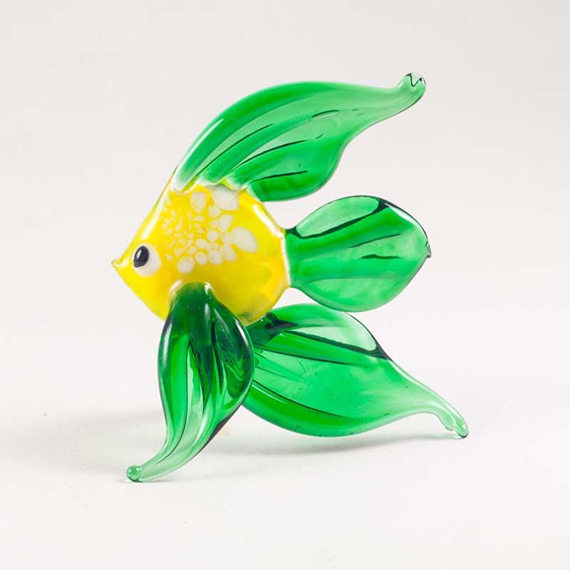 Фигурка стеклянная рыбка Рыбы