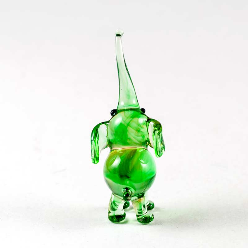 Слон зелененький Миниатюрные
