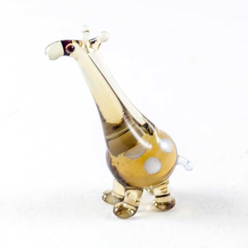 Жираф стеклянная фигурка Миниатюрные