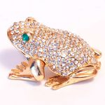 Шкатулка серебрянная лягушка
