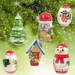 Елочные украшения Зима Игрушки на елку