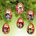 Новогодние игрушки Миниатюры Игрушки на елку