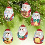 Новогодние игрушки  Дед Мороз Игрушки на елку