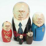Матрешка Владимир Путин