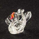 Стеклянная фигурка лебедя Птицы