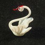 Белый лебедь фигурка Птицы