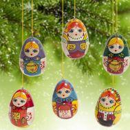 Деревянные игрушки  Русские матрешки, фото 1