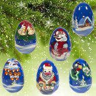 Елочные игрушки Зима, фото 1