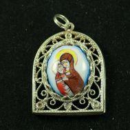 Кулон Божья Матерь Владимирская, фото 1