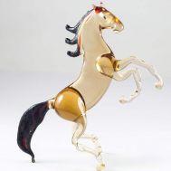 Конь гнедой на дыбах, фото 1