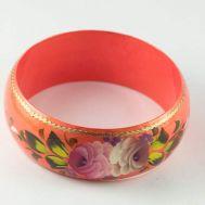 Браслет Розы на персиковом фоне, фото 1