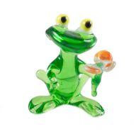 Лягушечка с цветком, фото 1