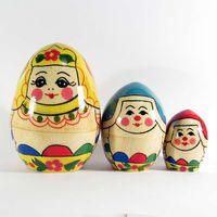Матрешка-яйцо Сударыня, фото 1