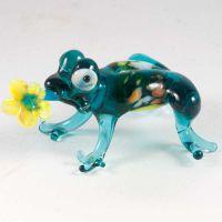 Лягушка с цветком, фото 1