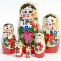 Матрешка Россияночка, 6 мест, фото 1