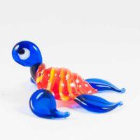 Красно-синяя черепаха морская, фото 1