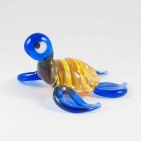 Черепаха желто-синяя, фото 1