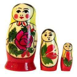 Матрешка Россияночка, 3 местная, фото 1