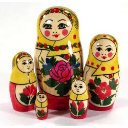 Матрешка Настя, 5 местная, фото 1