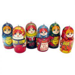 Новогодние игрушки Матрешки, фото 1