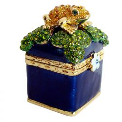 Шкатулка с лягушкой, фото 1