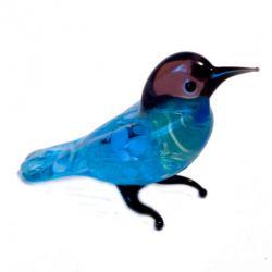Дикий голубь  стеклянная фигурка, фото 1