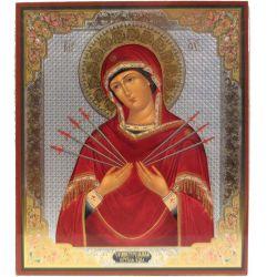 Икона Божья Матерь Семистрельная, фото 1