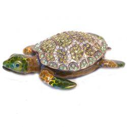 Шкатулка Черепашка морская зеленая, фото 1