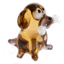 Фигурка Собачка с косточкой, фото 1
