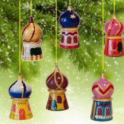 Игрушки на елку Храмы, фото 1