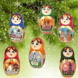 Новогодние игрушки Золотое Кольцо, фото 1