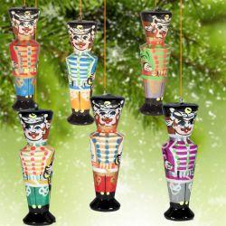 Деревянные игрушки  на елку  Гусары, фото 1